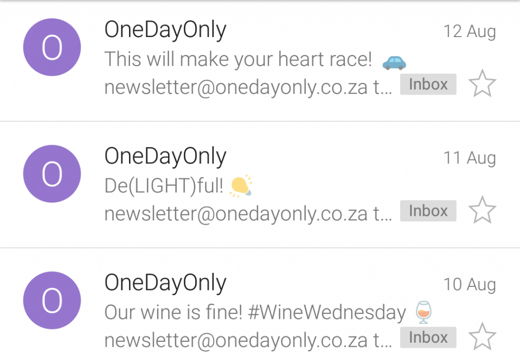 OneDayOnly examples-mobile