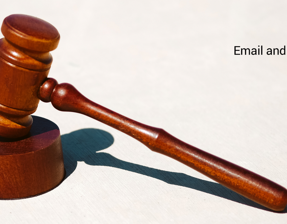 Email and the law