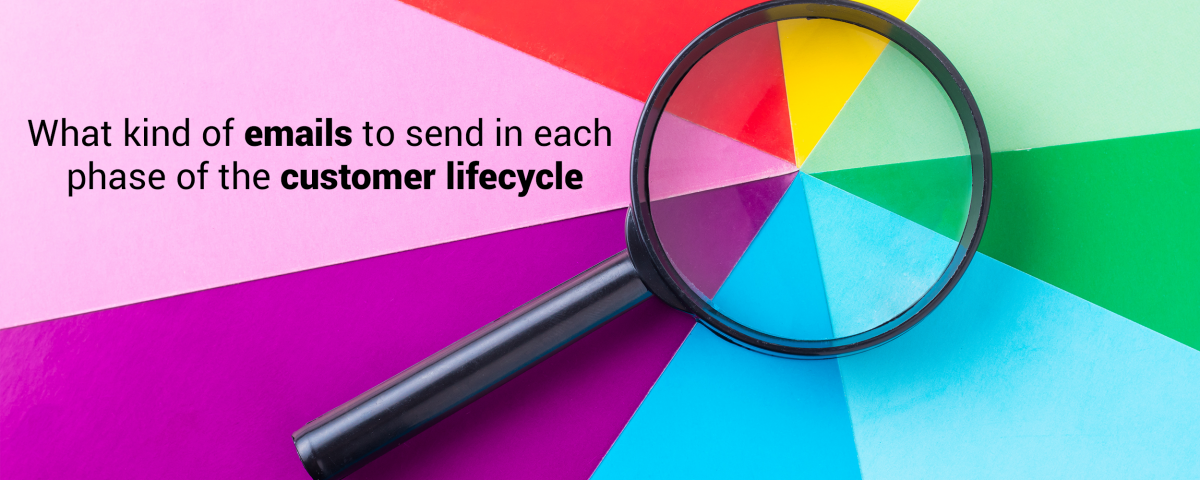 What kind of emails to send in each phase of the customeImplement the 5 primary stages of the customer lifecycle strategy like a pro. r lifecycle